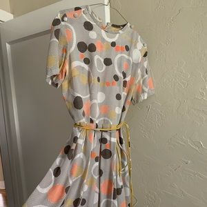 Vintage Polka dot day dress!